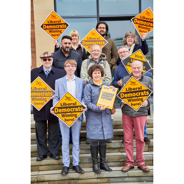 Liberal Democrats Launch Manifesto for Derby