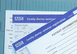 National Health Service (NHS) forms