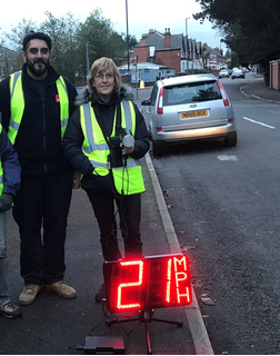 Ajit Atwal with Abbey Speedwatch